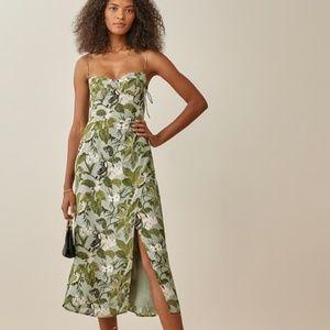 Reformation The Kourtney Dress Tropical Size 10